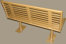 Horzontal Flat Bar Bench