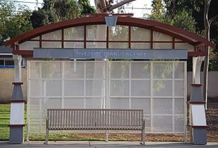 Arch Bus Shelter