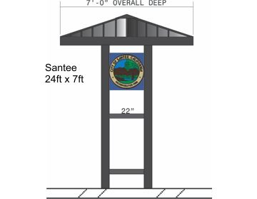 HP Cantilever Bus Shelter