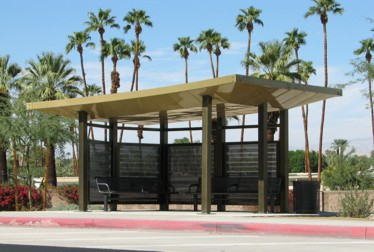 Custom HP Bus Shelter Solar LED Lighting