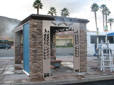 Custom Bus Shelters