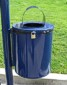 20 gallon pole mounted trash receptacles