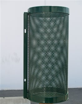 15 gallon Pole Mounted Trash Receptacles