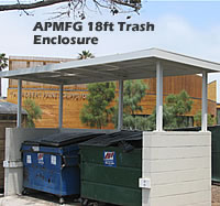 Trash Enclosure Cover