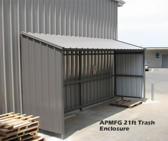 Trash Enclosure Canopy